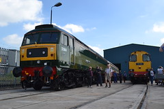 Class 47 - D1944 / 47501 & DRS 20303 Max Joule 1958 - 1999 (Will Swain) Tags: seen gresty bridge depot open day 23rd july 2016 drs cheshire north west south county train trains rail railway railways transport travel uk britain vehicle vehicles country england english class 47 d1944 47501 20303 max joule 1958 1999