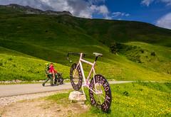 Vivere il Trentino (lorenzapanizza) Tags: obereggen trentino trentinoaltoadige people landscapephotography turismointrentino mountains trekking latemar bike