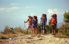2016-05-10_12.jpg (pfedorov) Tags: turkey thelycianway lycianway turkeyonfilm onfilm film canoneos3 eos3 kodak backpack backpacker backpacking nature adventure camping camp