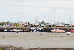 3412 Boats (Andy panomaniacanonymous) Tags: 20160812 bangorharbour bbb boats hhh lowtide mmm moored mudflats yachts