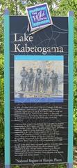 Lake Kabetogama Marker (Kabetogama, Minnesota) (courthouselover) Tags: minnesota mn saintlouiscounty stlouiscounty kabetogama kabetogamastateforest northamerica unitedstates us