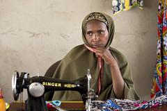 UN Women Humanitarian Work with Refugees in Cameroon (UN Women Gallery) Tags: unwomen planet5050 genderequality empowerment cameroon humanitarian refugee centralafricanrepublic economicempowerment wps 1325 onufemmes cameroun market vendor business entrepeneur sewing