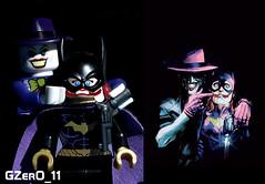 Batgirl #41 Cover (New 52) Comparison (GZer0_11) Tags: lego batman custom decal dc comics villains joker cover killing joke batgirl barbara gordon 41 new 52