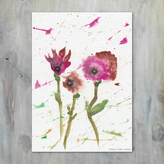 Forever Flowers Abstract Watercolor Painting (They Come Along) Tags: art watercolor watercolorart watercolorpaint watercolorpainting flowers flower floral flowerart floralart abstract abstractart myart