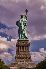 Statue of Liberty (Tom Slate) Tags: statueofliberty libertyisland newyork fredericaugustebartholdi alexandregustaveeiffel eiffel bartholdi ladyliberty