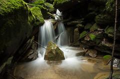 Flowing Water and Mossy Rocks (James.Baron) Tags: mcconnellsmill longexposure pittsburghnaturephotography pittsburghnaturephotographer pensylvania water waterfall pentax flowing nature green