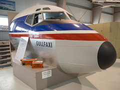 Aviation museum (James E. Petts) Tags: iceland akureyri aviation boeing727 cockpit gullfaxi museum