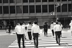 Business men in Tokyo (ZKent.Yousif) Tags: minatoku tkyto japan jp tokyo businessmen blackandwhite canon canonsigma sigma1750mm sigma