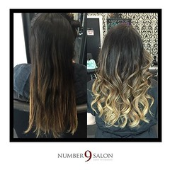 "This foilyage before and after has us so ready to start a new week! Hair created by stylist, Ashleigh. #foilyage #behindthechair #modernsalon #americansalon • <a style=""font-size:0.8em;"" href=""http://www.flickr.com/photos/41394475@N04/29143077235/"" target=""_blank"">View on Flickr</a>"