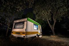 BREAKING BAD (Fernando Guerra Velasco) Tags: largaexposicin nocturna caravana pintarconluz