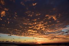 Sunrise Port des Morts (marensr) Tags: sunrise dawn port des morts deaths door lake michigan clouds cloudy cloudscape peach blue nature weather light