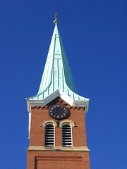 Timeless (Rock Water) Tags: steeples churchsteeples timeless richmondminnesota clocks broken