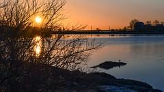 Like the bright morning light (Lojones13) Tags: sunrise fiveislandpark outdoor sky morning silhouette newrochelle newyork