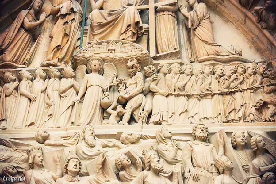 2016.10.02 ▐ 看我的歐行腿▐ 法國巴黎一日雙聖,在聖心堂與聖母院看見巴黎人的兩樣情 19