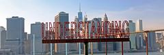 Understanding (Kristin&Joe) Tags: martincreed art sculpture understanding newyorkcity nyc skyline brooklynbridgepark pier6