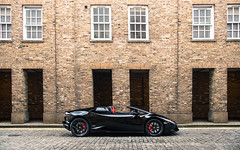 Spyder (Alex Penfold) Tags: lamborghini huracan spyder black lambo profile london supercars super car cars autos alex penfold 2016