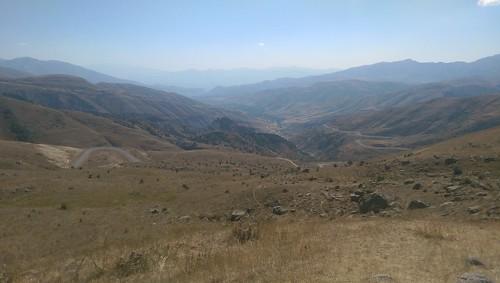 Krajobraz z przełęczy Selim