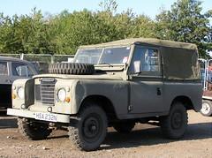 HSA 232N (2) (Nivek.Old.Gold) Tags: 1975 land rover 88 series 3 softtop 2286cc