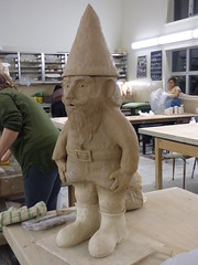 Clay Gnome (outdoorPDK) Tags: gnome clay ceramics handbuilt coil