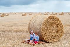 DSC_0849 (Asinka Photography) Tags: summertime hay bales sky darkclouds
