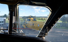 XV240 Nimrod, Kinloss (wwshack) Tags: aircraftmuseum kinloss moray morayvia nimrod raf rafrescue royalairforce scotland seaking cockpit sidewinder missilesight