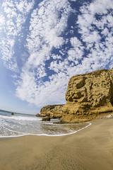 Cove Beach (matman73072) Tags: cove beach sand sky surf ocean clouds fisheye anonuevo california