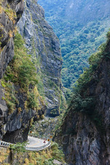 Taiwan-121116-742 (Kelly Cheng) Tags: asia northeastasia taiwan tarokogorge tarokonationalpark color colorful colour colourful day daylight gorge green landscape nopeople nobody outdoor river rock sunny sunshine tourism travel traveldestinations vertical vivid water