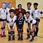 BHS Varsity Volleyball Senior Night 10-18-16