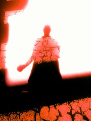 2016-10-20_04-15-50 (D . Inc 75) Tags: end streetphotography power fear rage ghost man shadow crossing red street