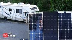 solar panel rv flexible efficient energy