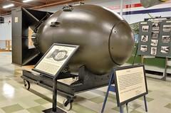 "Mark III Nuclear Bomb- ""Fat Man,"" United States Military, California, Travis Air Force Base, Travis Air Force Base Heritage Center (EC Leatherberry) Tags: travisairforcebaseheritagecenter worldwarii atomicbomb markiiinuclearbomb fatman unitedstatesmilitary base bomb california travisairforcebase nuclearbomb"