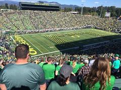UO Marching band (LarrynJill) Tags: oregon football ducks arena autzen stadium band marchingband university universityoforegon