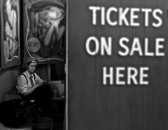 (johndutcher) Tags: tickets coneyisland streetphotography street blackandwhite nyc newyorkcity