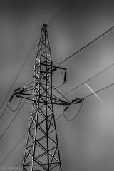 3. (slivinska) Tags: aerials plane sky bw black blackandwhite lines canon helios amarillis alinasliwinska