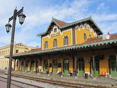Train station. (alekathom) Tags: train station volos greece