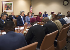 Secretary Kerry and Assistant Secretary Richard Meet With Northern Governors from Nigeria in Washington (U.S. Department of State) Tags: johnkerry nigeria