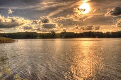 by the lake (januwas) Tags: polska poland polen jezioro rydzewo see lake hdr nikon d5000