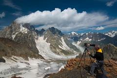 Ushba Yuriy Sanin (Yuriy Sanin) Tags: yuriy sanin georgia mountains largeformat bynikolayivaschenko