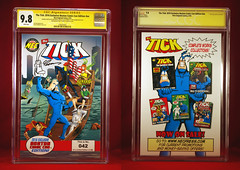 BOSTON COMIC CON 2016 AUTOGRAPHED NUMBER 42 BY IAN NICHOLS AND TONY SEDANI ON AUGUST 12, 2016 (vsndesigns) Tags: beta the tick vs arthur sentinel prime optimus successor townsend coleman lego minifig minifigure dcon 2014 ball mylar balloon buttons bonanza pencil indie shocker gbjr toys with tie and tshirt zombie in a steel box fox promotional totally kids magazine 45 club spoon taco bell meal commercial eli stone ben edlund little wooden boy comic book merchandise rare limited edition 80s 90s collector museum naked super hero heroine collection photo screen