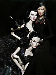 """Wicked Jolie Sisters (""""Gakuya"""") Tags: fashionroyalty fr2 engagingelise ontherise jadore"""