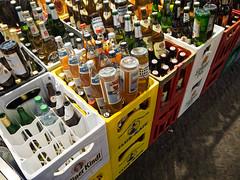 Bottles (20161015_EbenMarks_1) (Eben Marks) Tags: bottle beer shop stack repetition germany de berlin
