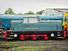 London Transport DL83 Sentinel (2) (Alan Rowley Photos) Tags: transport nenevalleyrailway rail class sentinel wansford hertfordshire unitedkingdom