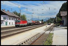 BB 1144 216, Brixlegg, 11-08-2011 (Sander Zwoferink) Tags: bb sterreichischebundesbahnen bb1144216 brixlegg 11082011 1144216 bb1144 oostenrijk uc inntal 2011