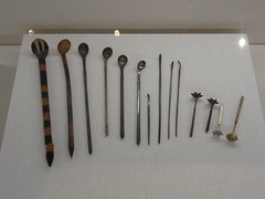 Ryukyuan Hairpins (toranosuke) Tags: okinawaprefecturalmuseum 沖縄県立博物館・美術館 hairpins 簪