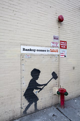 banksy comes to zabar's (eb78) Tags: nyc newyorkcity manhattan upperwestside streetart graffiti banksy