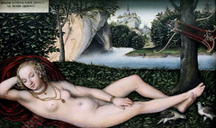 IMG_7534 Lucas Cranach L'Ancien. 1472-1553. Wittenberg. Vienne. Weimar. Nymphe  la fontaine. Nymph in the fountain. Aprs 1537.   Bremen Kunsthalle. (jean louis mazieres) Tags: peintres peintures painting muse museum museo lucascranachlancien lucas cranach elder