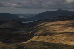 Watendlath Tarn, Derwent Water & Bassenthwaite Lake on descent from Ullscarth (Wildlife & Landscape Photography by Andrew Mozley) Tags: bassenthwaite derwentwater lake ullscarth watendlathtarn