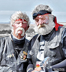 Aug 10 2016 - Kirk and Cam doing what they do best - look good (lazy_photog) Tags: lazy photog elliott photography sturgis south dakota black hills motorcycle classic rally races harley davidson iron mountain road 081116us212tocrowagencybeartooth