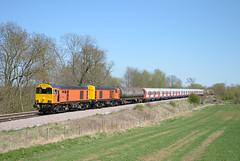 DSC_2867_01 (Carl Westwood) Tags: old test west track class 20 wreak on the dalby frisby lul amersham ruislip 20905 20314 20901 hnrc sstock gbrf 20311 7x09