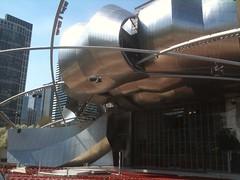 Pavilion by Gehry en el MillenniumPark de Chicago